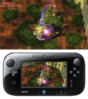 Pikmin Adventure screens