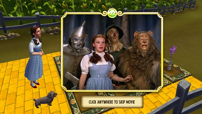 The Wizard of Oz Facebook game