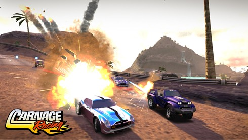 Carnage Racing screens