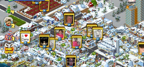 CityVille screens