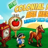 FarmVille Colonial Items: Clock Tree, Quilted Bear and more
