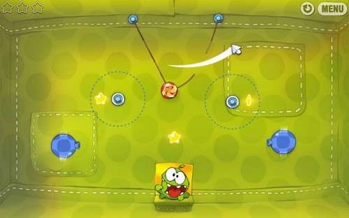 Cut The Rope screens