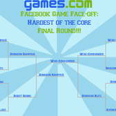 Facebook Game Face-off: The Hardest of the Core Final Round