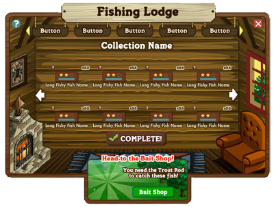 FarmVille Fishing Lodge