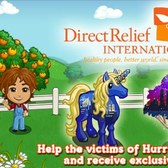FarmVille: Support the victims of Hurricane Sandy by donating now