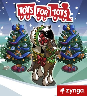 FarmVille Toys for Tots