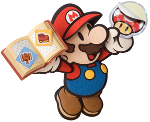 Paper Mario Sticker Star screen shots