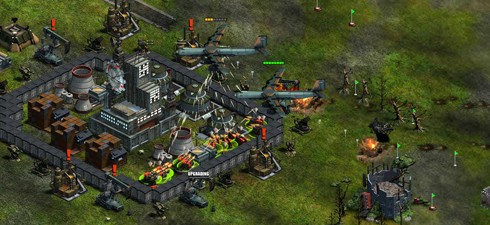 War Commander screens