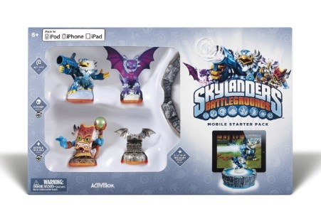 Skylanders Battlegrounds screens