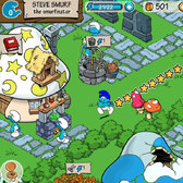 Smurf Life, another Smurfalicious Smurfs game, Smurfs mobile this year