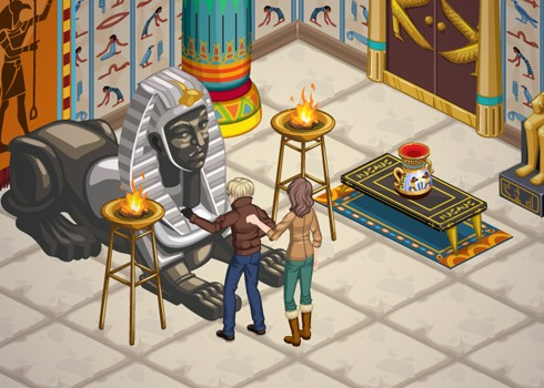 The Sims Social Egypt Week quests