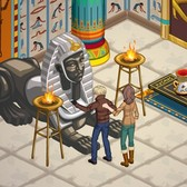 The Sims Social 'Rock Like an Egyptian' Quests: H
