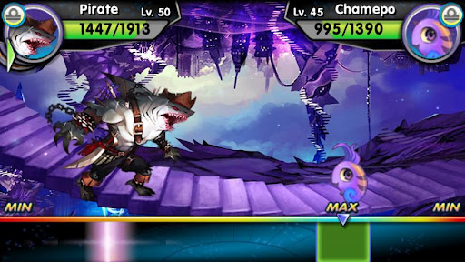 Monster Galaxy Exile screens