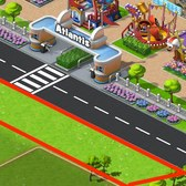 CoasterVille Cheats & Tips: Build outside your park to save space