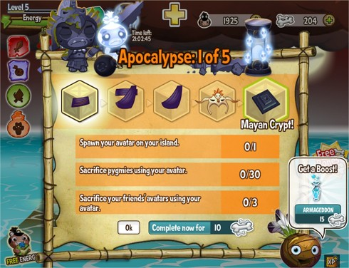 how to create the apocalypse in pocket god