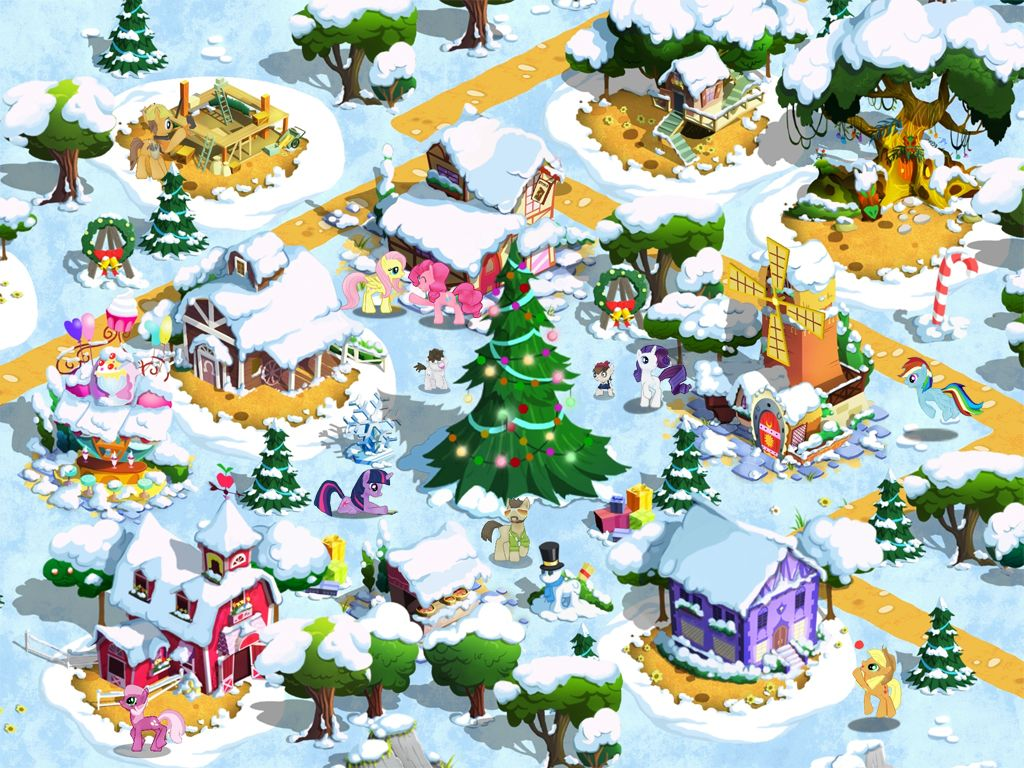 Are You Psyched For The Holiday Update For My Little Pony On IOS And . Full resolution‎  pic, nominally Width 1024 Height 768 pixels, pic with #BA8A11.