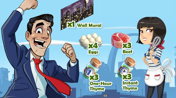 Play CityVille 2 for free ingredients