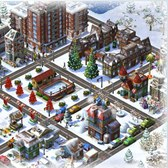 CityVille 2 Winter Neighborhood Items: Eve