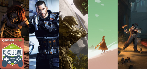 Best Console Games 2012