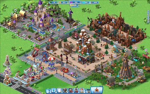 CoasterVille screen shots