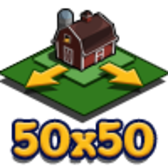FarmVille Home Farm 50x50 Soooooo Big Land Expansion