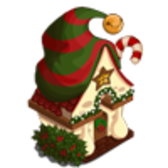 FarmVille Mistletoe Lane 'Nick's Challenge Stage 11': Get a Elf Hut!