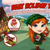 FarmVille: Beat Mistletoe Lane for a free shi