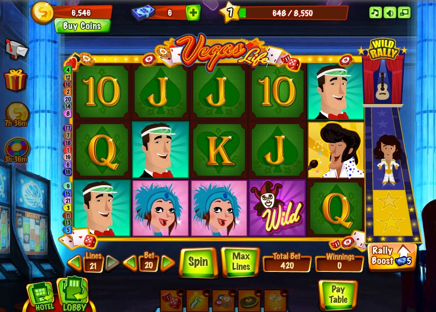 Slots games by zynga