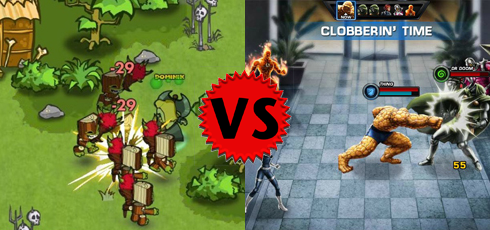 Marvel Avengers Alliance Dungeon Rampage