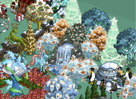mistletoe lane trees 1355689601 FarmVille Around the World Goals: Everything you need to know