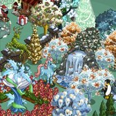 FarmVille Friendship: Give a Magic Pegacorn, get a Winter Magic Tree