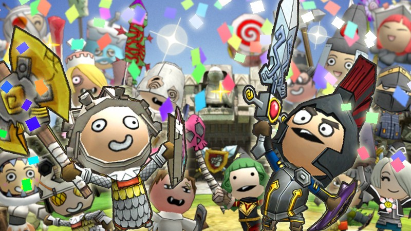 Happy Wars 1.2 million players