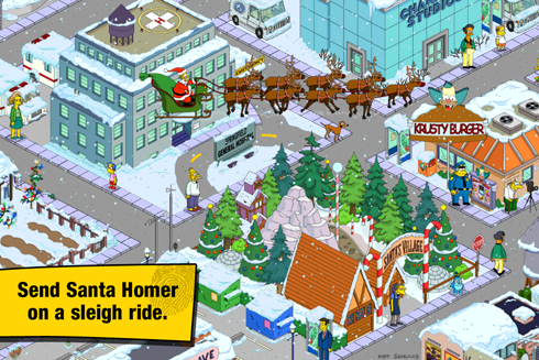 The Simpsons Tapped Out Android