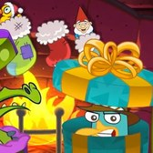 Swampy meets Perry in Where's My Holiday? on iOS, Android