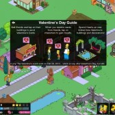 The Simpsons: Tapped Out Celebrates Valentine's Day With New Update