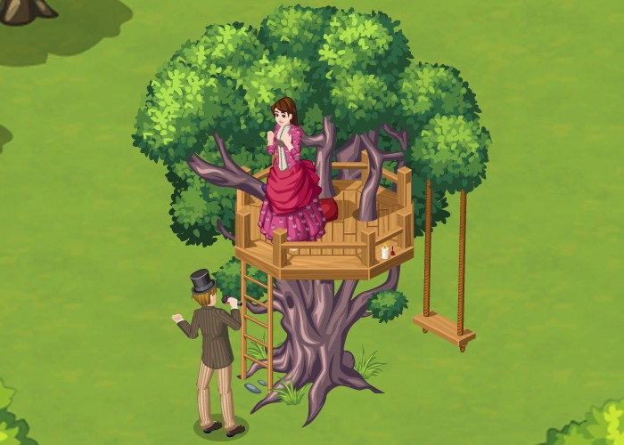 The Sims Social Victorian Romance week