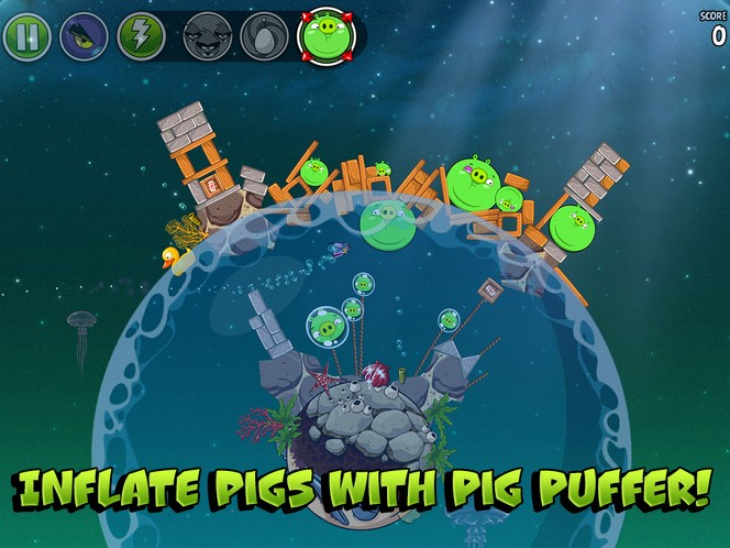 Angry Birds Space update walkthrough