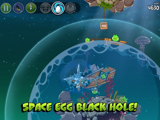 Angry Birds Space pig dipper tips