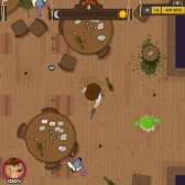 Cowboys vs Pirates is one intense top down shooter, now on Games.com