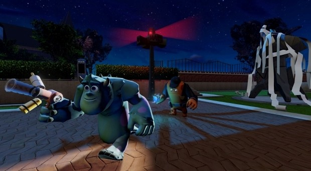 Disney Infinity screens