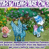 FarmVille Fantasy Items on Sale