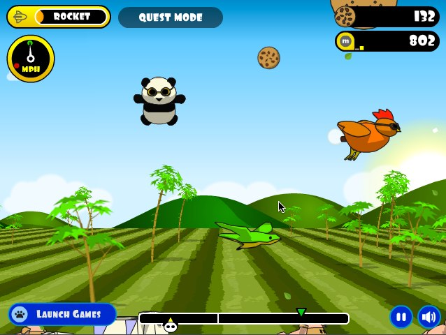flying cookie quest online at games.com play free online games Game of the Day: Flying Cookie Quest