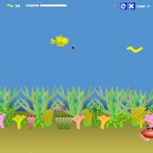 Help a goldfish to safety in GoldFish Escape, now on Games.com