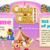 Candy Crush Saga is kind of a big deal, so an infographic is only natural