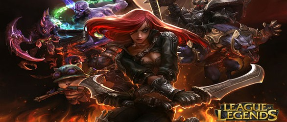 League of Legends screens