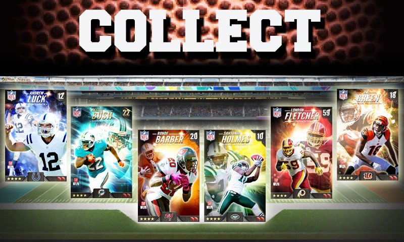 Football trading cards come to Android in DeNA's NFL Matchups