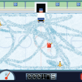 In today's Google Doodle, drive an adorably drawn zamboni