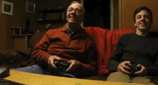 Grandpa video games