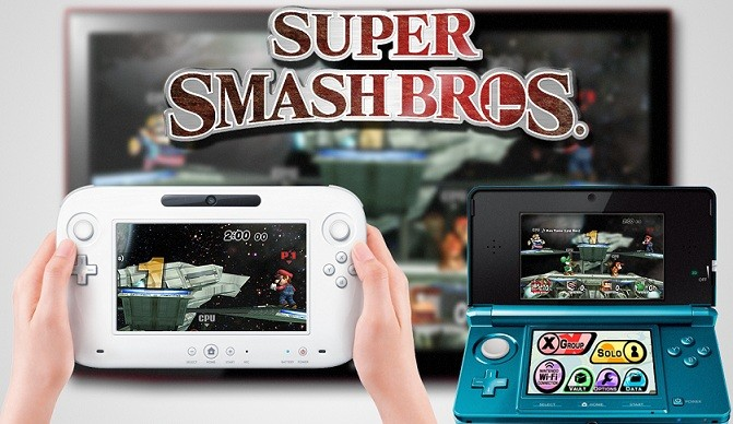 Super Smash Bros. Wii U 3DS