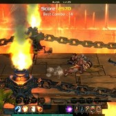 Gorgeous 3D brawler ChronoBlade hopes to lure the core to Facebook